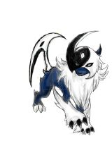 Bord : Absol Evolving by ReimeiJCabbit