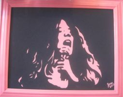 Janis in pink and black by JME-B