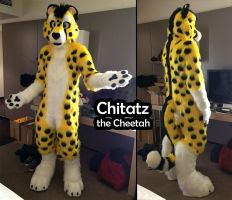 Fursuit Commission - Chitatz the Cheetah by Sethaa