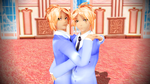 [MMD]Brotherly Love by luckygirl88
