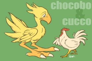 Choco and Cucco .Updated. by Nyaasu