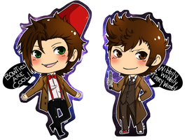 Doctor Who Chibi by xxsymmetryxx