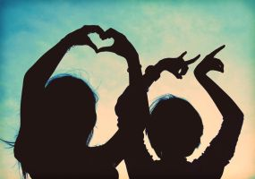 a love sign by fayellow