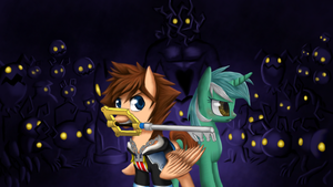 Lyre and key by xilenobody143