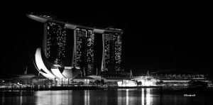 Singapore in monochrome 07 by KanutoX