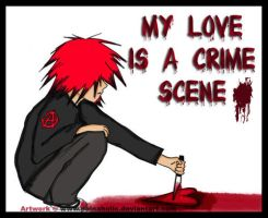 My Love Is A Crime Scene by Mahadesu