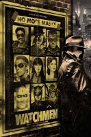 Watchmen Theatrical Poster by J-K-K-S