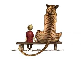 Calvin and Hobbes by hoops17