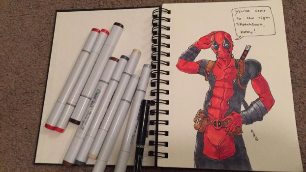 First page of new Sketchbook by SpeakKhody