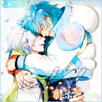 Aoba and Clear - Happiness by zematerid