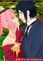 SasuSaku Lady and the Thief (part 2) by byBlackRose