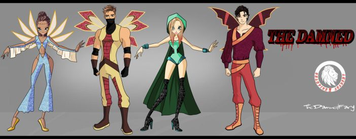 the Damned MT Designs by TheDamnedFairy