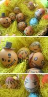 Multiworld Easter Eggs by Noire-Ighaan