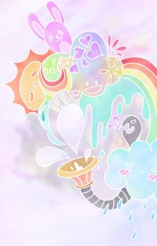 Rainbows and Sunshines by IcyClawedPhoenix