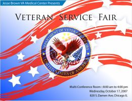 Veteran Service Fair by santidiablo