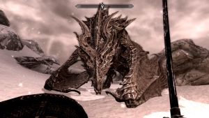 Skyrim: Alduin the World Eater by SilentDragon64