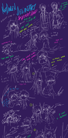 3-10 - 3-20 Doodles CHEAP JOKES FOR DAYS by NotDamien