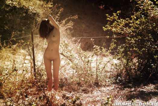 Forest Nude by loveimplied