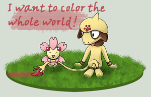 Color the whole world. by Amerso