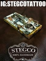 Oujia Tattoo foot switch by Stegco by Stegco