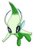 Celebi by VirusMetalGarurumon
