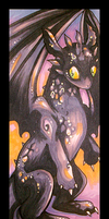 Toothless Bookmark by IceandSnow