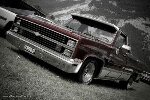 Two Tone Chevy Truck by AmericanMuscle