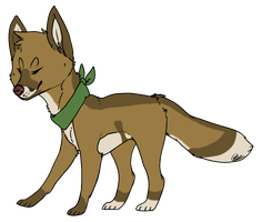 Cyrus the Coyote - OC by Feralx1