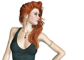 Female 50 PNG Stock by Roys-Art