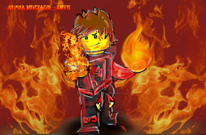 Lego Ninjago: Kai Master of Fire by AlphaNinjagoArts