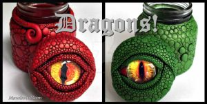 Dragon Eye Vessels by MandarinMoon