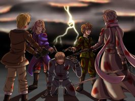 Dark Hetalia: The Final Hour by MangaEngel