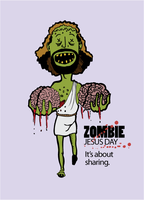 Zombie Jesus Day by cprhodes