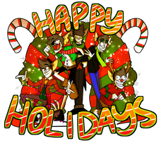 Happy Holidays from the Alters [SP] by theStupidButterfly