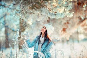 Winter fairytale by OlgaBoyko