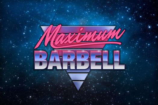 Maximum Barbell Logo by luke314pi