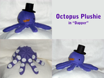 Dapper Octo Plush by SarahRuthless