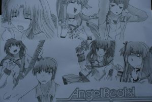 Angel Beats! by c3k1996