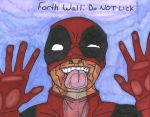 Fourth Wall: Do NOT Lick by cometbab