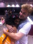 Me and Vic mignogna by Marceline0098