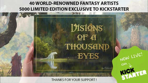 Visions of a Thousand Eyes Kickstarter Campaign! by dominuself