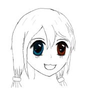 First 'eye-coloring'-try by cluster5020