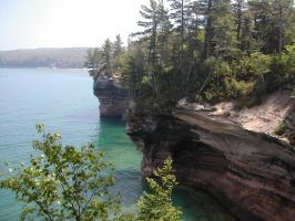 Pictured Rocks 2 by rsholtis