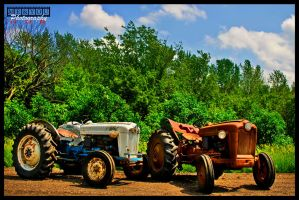 Tractors Psudo HDR by MEandYouPhoto
