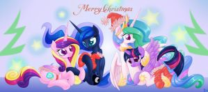 Christmas of princesses by LordYanYu