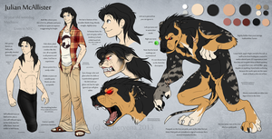 Julian's [Inaccurate] Ref Sheet 2013 by SoldierYena