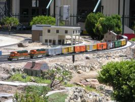 Fairplex RR BNSF Double-Header by rlkitterman