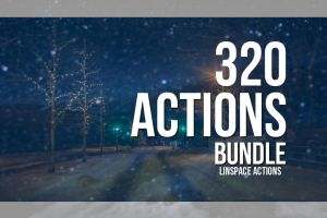 320 Actions bundle by linspace