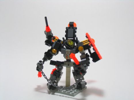LEGO UFO Brute Mech by illogictree