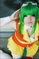 Vocaloid - Gumi - V by JessicaUshiromiyaSan